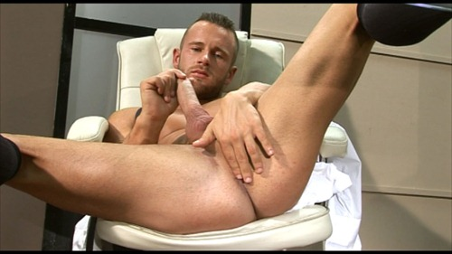 ben brown in a solo video on men at play